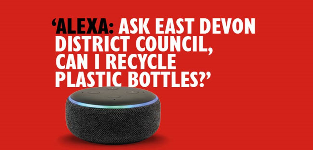 Alexa - Got a question about your East Devon recycling and waste? Ask Alexa!